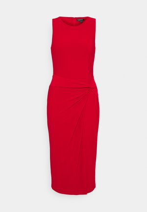 MID WEIGHT DRESS - Jersey dress - orient red