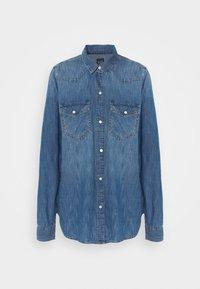 Gap Tall - Button-down blouse - medium indigo - 4