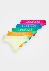Calvin Klein Underwear - BODY THONG 5 PACK - Thong - multi - 0