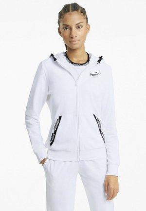 Sweatjacke - puma white