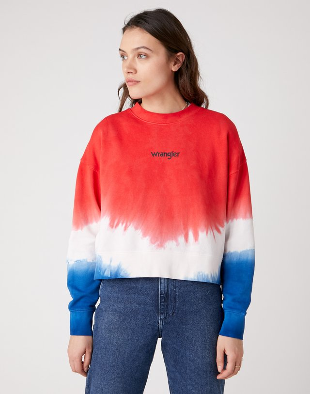 HIGH RIB BOXY RETRO - Sweater - wrangler blue