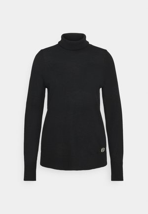 TURTLE NECK - Svetr - black