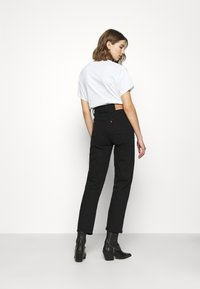 Levi's® - RIBCAGE STRAIGHT ANKLE - Jeans straight leg - black heart