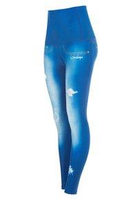 Winshape - HWL102 INDIGO-BLUE HIGH WAIST -TIGHTS - Leggings - ocean blue - 4