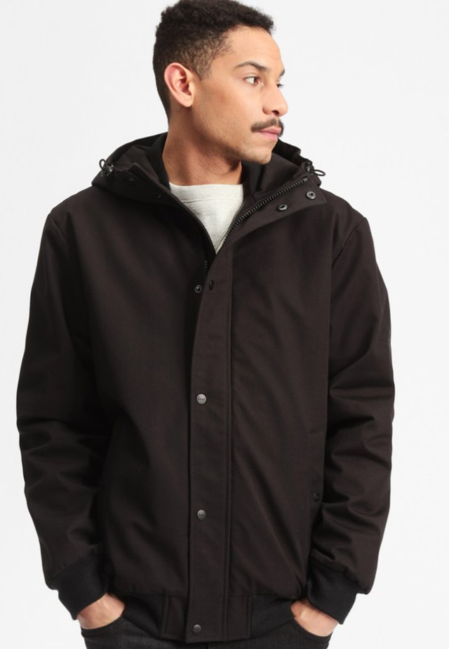 BEAVER - Winter jacket - black