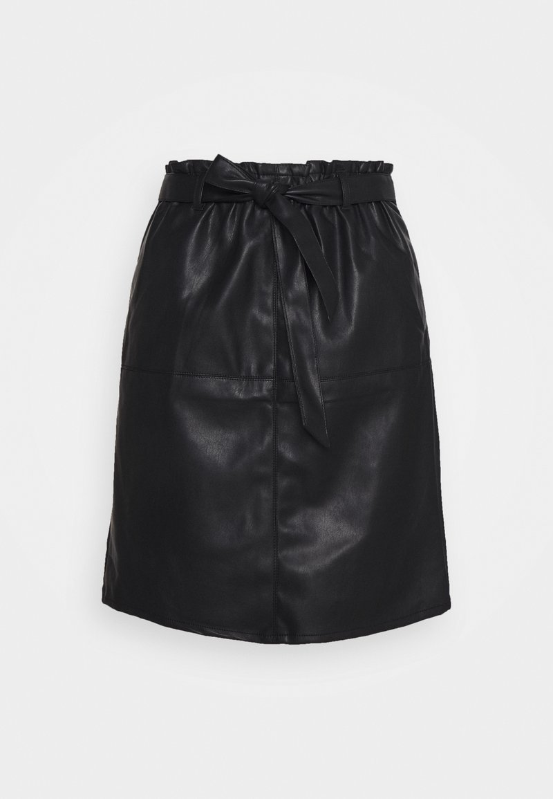 ONLY Tall - ONLRIGIE PAPER BAG SKIRT - Pencil skirt - black
