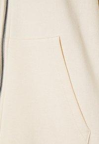 Even&Odd - Oversized Hooded Sweat Jacket - Zip-up sweatshirt - off-white - 2