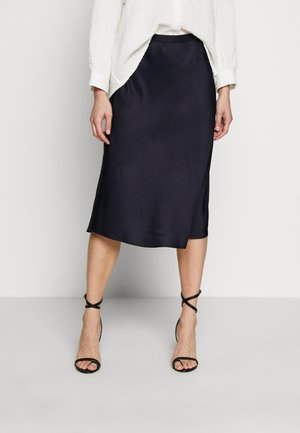 ROOKIA - A-line skirt - just blue