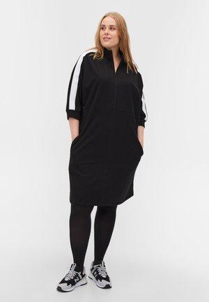 3/4 SLEEVES - Denní šaty - black