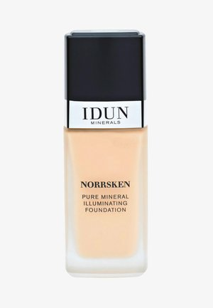 LIQUID FOUNDATION - Fondotinta - svea - warm medium