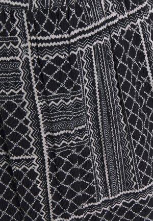 MERKA AMBER SKIRT - A-lijn rok - black/chalk