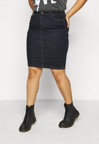 CAPSULE by Simply Be - SKIRT - Mini skirt - indigo - 0