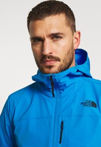 The North Face - MENS NORTH DOME STRETCH JACKET - Větrovka - clear lake blue - 3