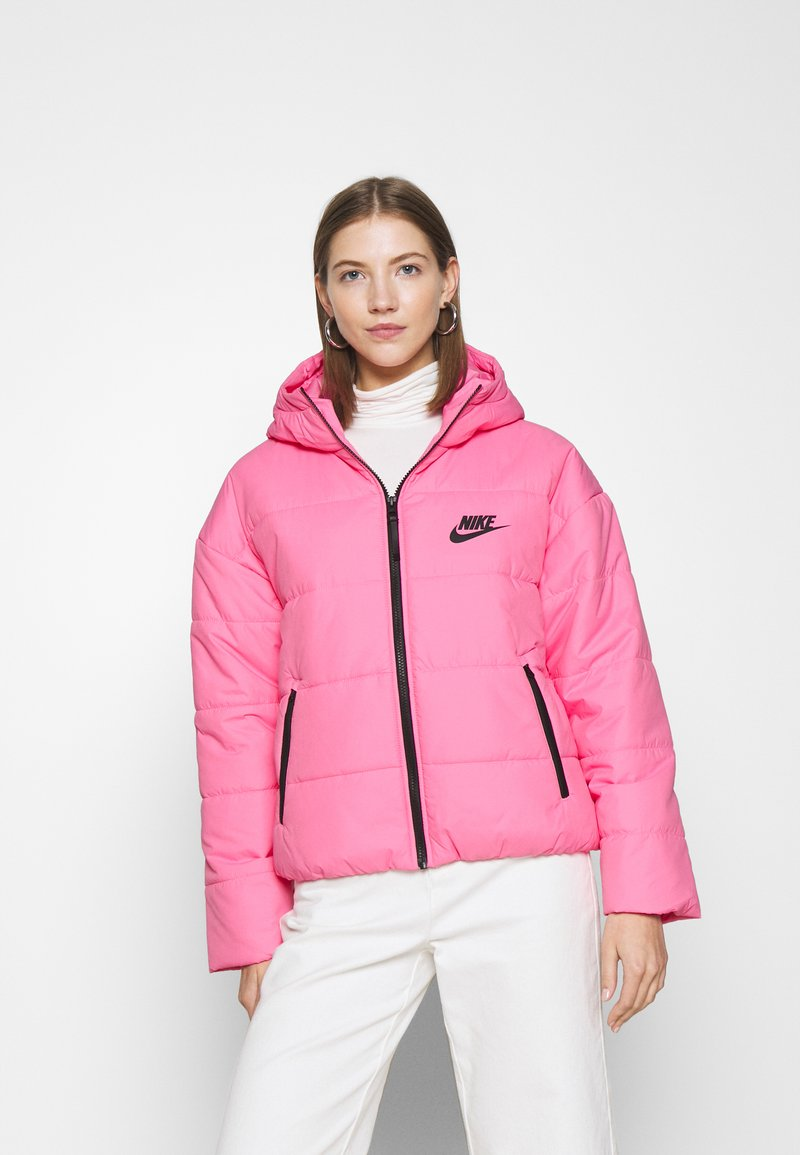 Nike Sportswear - CORE  - Chaqueta de entretiempo - pink glow/black