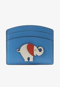 kate spade new york - APPLIIQUE TINY ELEPHANT CARD HOLDER - Visitenkartenetui - oceanside - 1