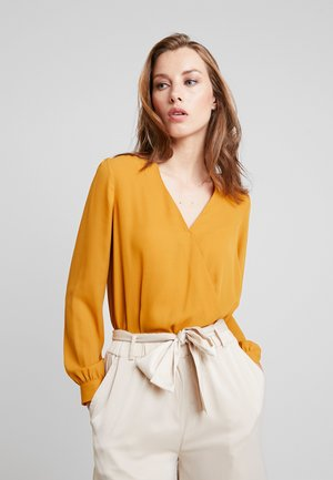 BODY BLOUSE - Blůza - mustard