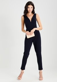 WAL G. - SLEEVELESS PLUNGE  - Jumpsuit - navy - 1