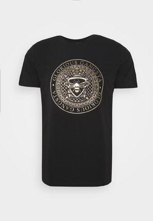 ABILA - T-shirt z nadrukiem - black