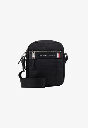ELEVATED NYLON MINI REPORTER - Across body bag - black