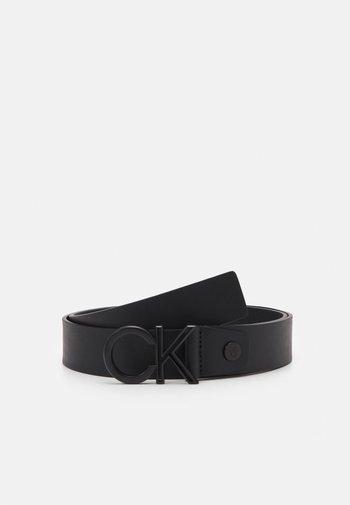 OUTLINE MATT - Pásek - black