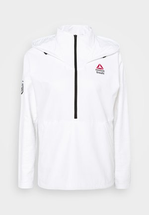 CONTROL HOODIE - Soft shell jacket - white