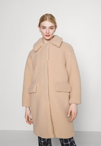 MOLHA BORG - Winter coat - biscuit
