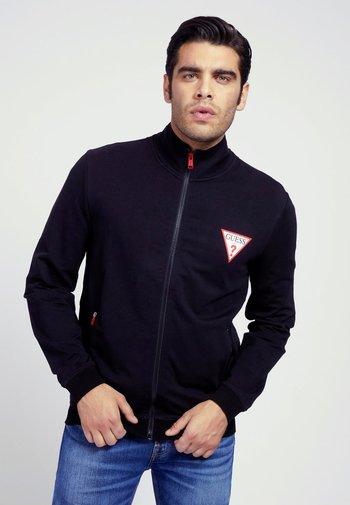 REISSVERSCHLUSS - Zip-up sweatshirt - schwarz