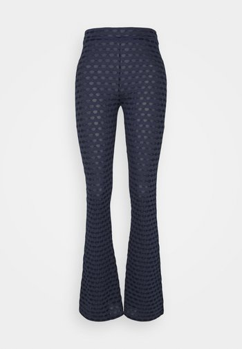 DRONE TROUSER - Trousers - blue