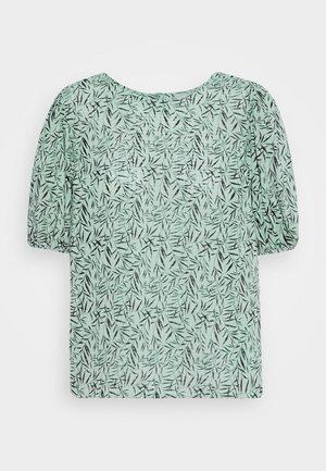 ONLKAMMA PUFF SLEEVE - Bluse - jadeite