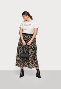 Kaffe Curve - KCVENKE SKIRT - A-line skirt - black - 1