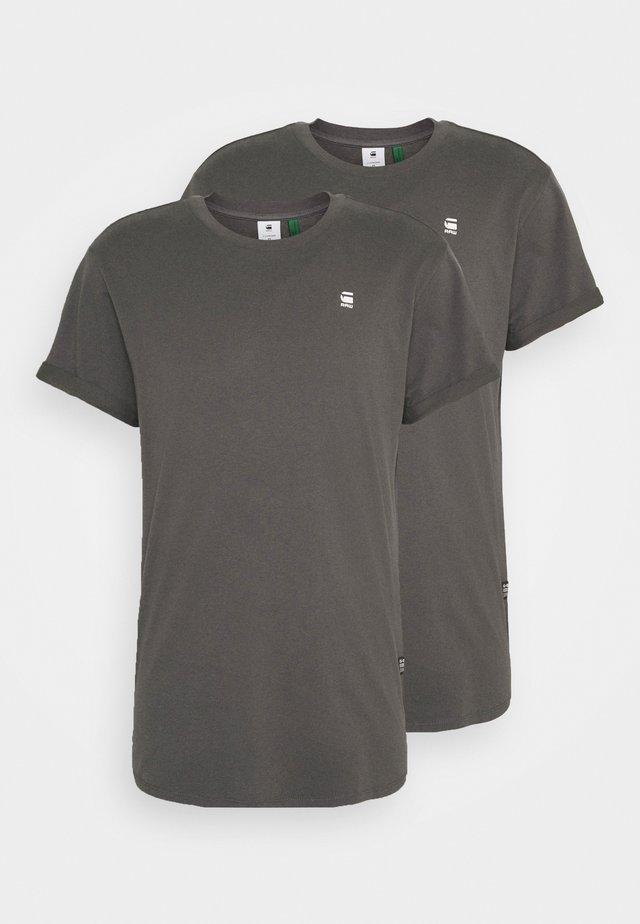 LASH 2 PACK - T-Shirt basic - shadow