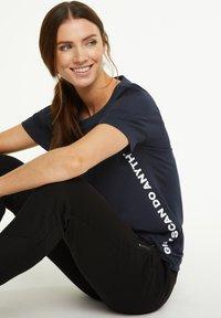 comma casual identity - Sweatshirt - marine - 0