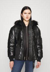 Diesel - W-ISOKE-SHINY - Winter jacket - black - 0