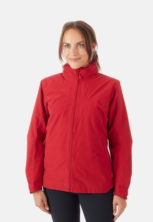 2 IN 1 - Hardshelljacke - red