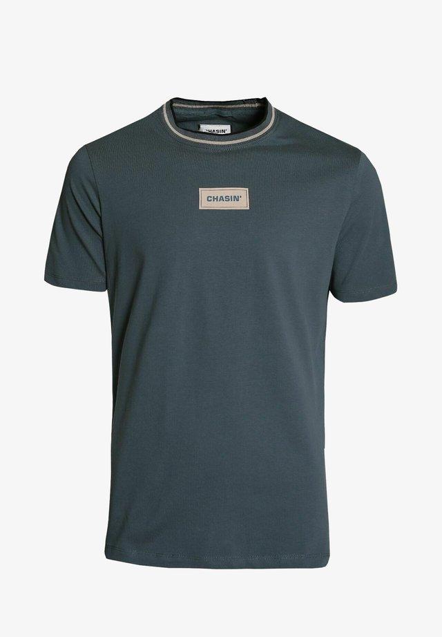 DELTA - Print T-shirt - blue