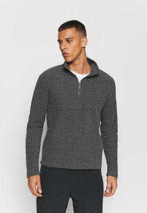 EDLEY - Fleece jumper - asteroid grey