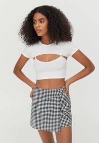 PULL&BEAR - T-shirt print - white - 0