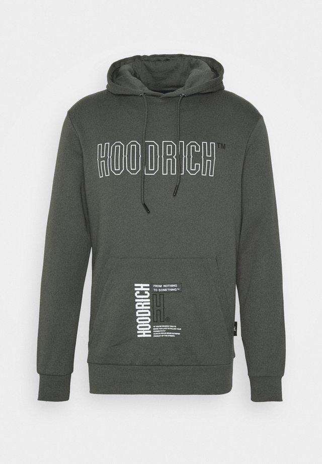 Sweatshirt - grey/white