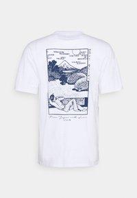 Edwin - FUJI SCENERY UNISEX - T-shirt imprimé - white - 1