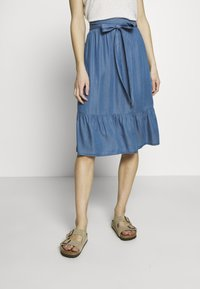 Culture - CUMINDY SKIRT - Áčková sukně - blue wash - 0