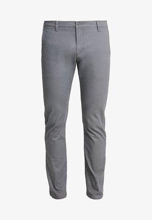 WASHED KHAKI SLIM - Chino kalhoty - burma grey