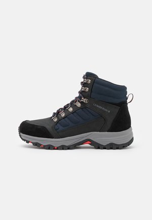 ORSON - Lace-up ankle boots - navy blue