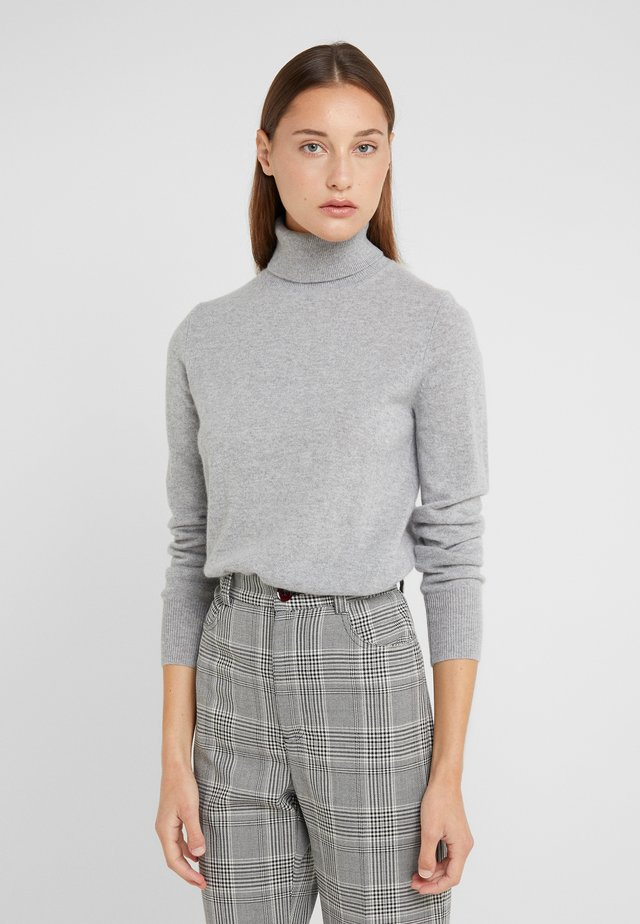 LAYLA TURTLENECK - Strickpullover - heather grey