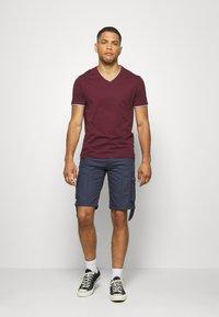 Pier One - T-shirt - bas - bordeaux - 1