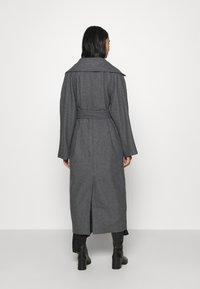Weekday - KIA BLEND COAT - Abrigo - antracit melange - 2