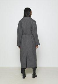 Weekday - KIA BLEND COAT - Zimní kabát - antracit melange - 2