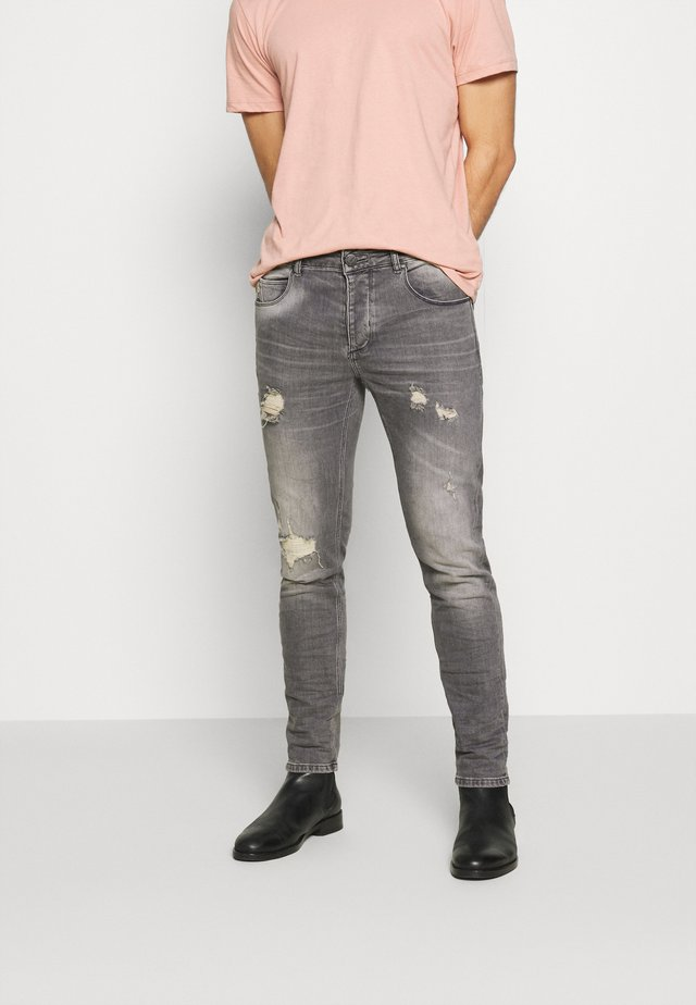 REY - Jeans slim fit - light grey