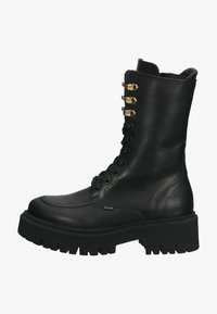 Steven New York - Lace-up boots - black leather - 0