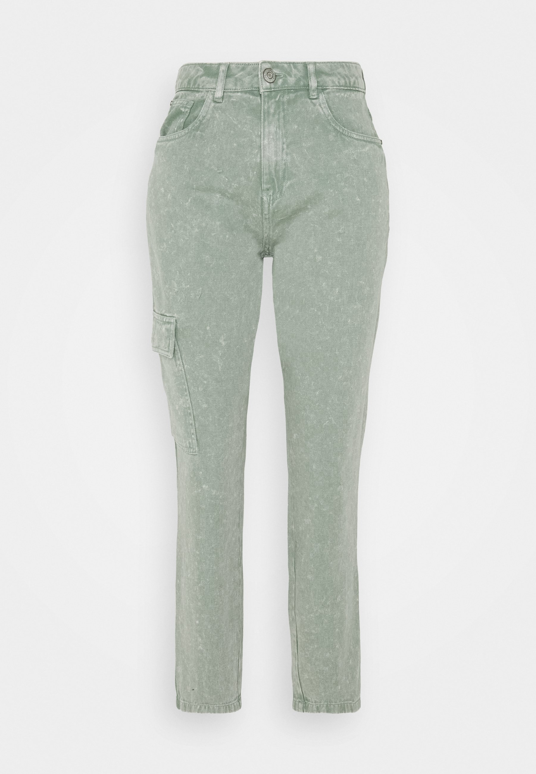 Women NMMABEL MOM POCKET ANKLE PANTS - Relaxed fit jeans