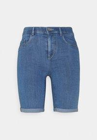 ONLY - ONLRAIN LIFE MID LONG - Jeansshort - medium blue denim - 3